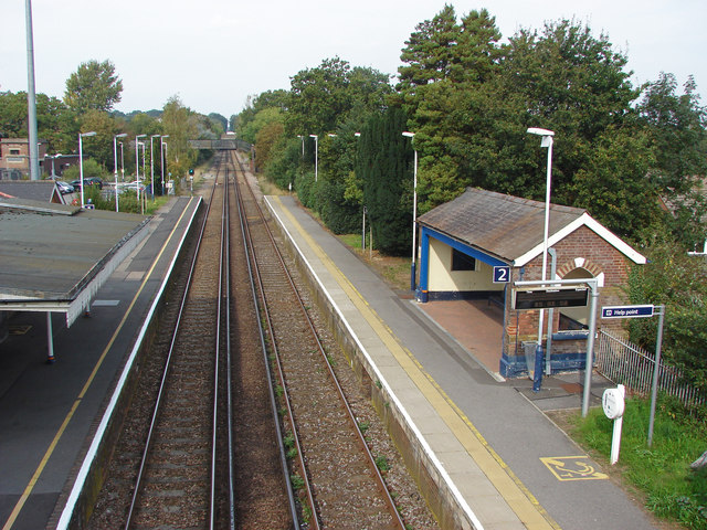 Bagshot station