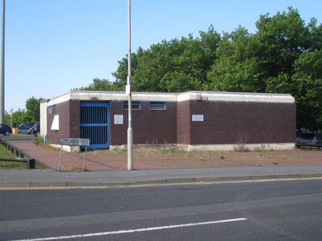 Closed public conveniences, The Inhedge, Dudley
