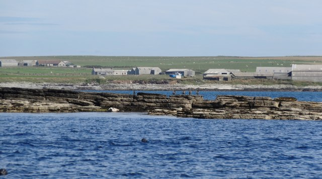 Skerry of Wastbist, Westray Firth