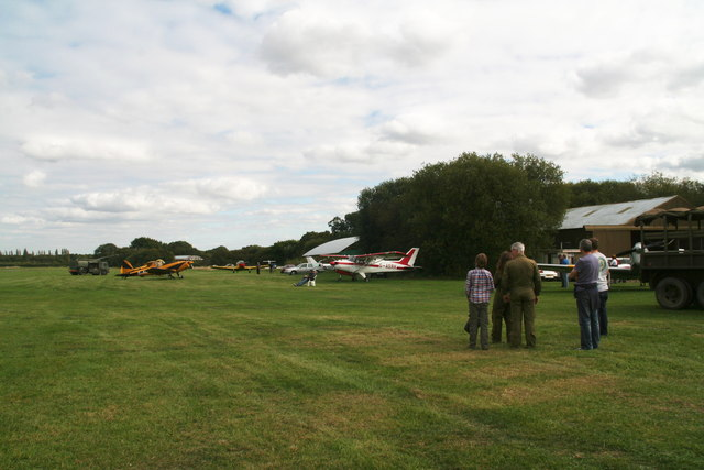 Fly-in Macmillan Coffee Morning at Spanhoe Airfield