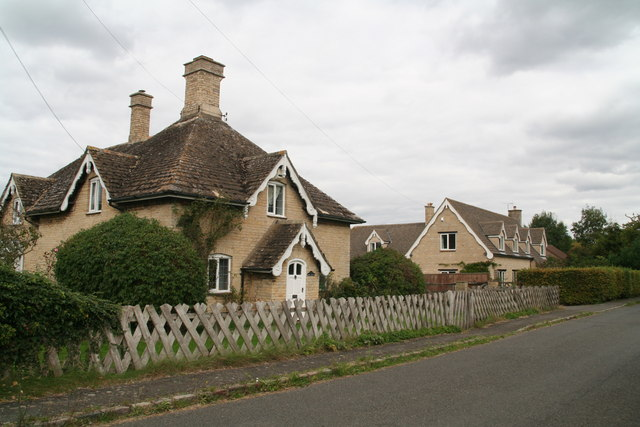 Picturesque cottages in Laxton