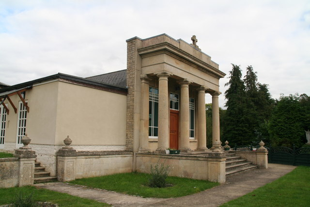 Building attached to Laxton Hall