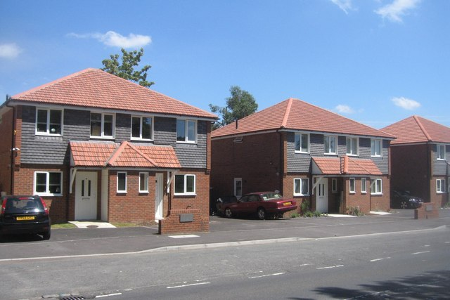 Houses on Hawley Lane