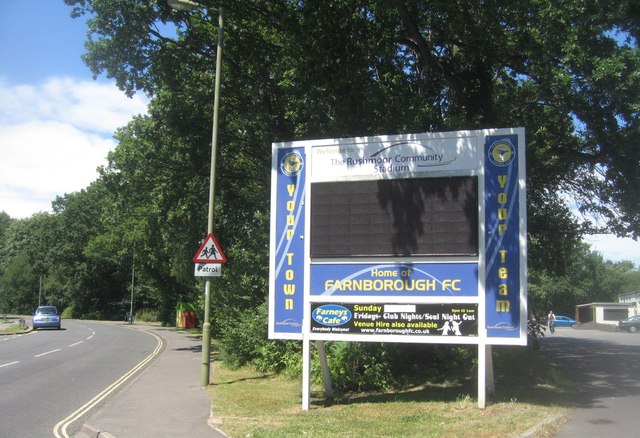 Home of Farnborough FC
