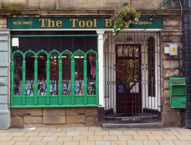 Decorative shop front, Skipton