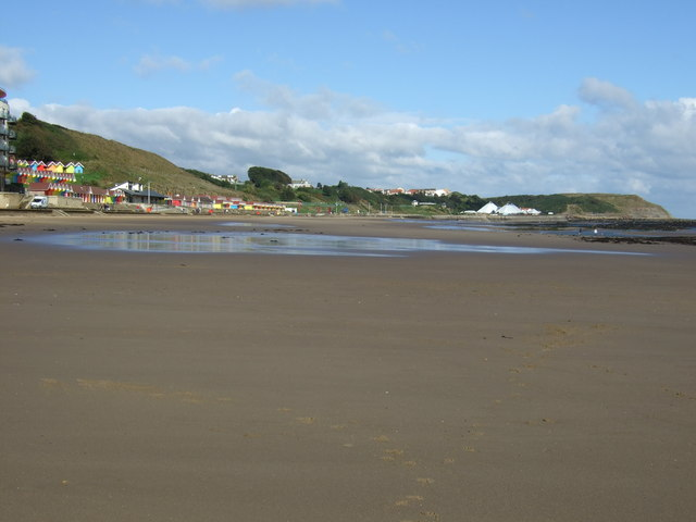 Low tide, Scarborough North Sands