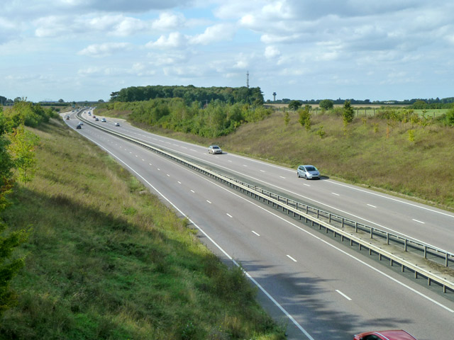 A120 looking west