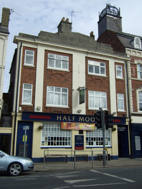 The Half Moon pub, Bridlington