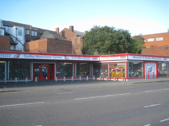 Fully stocked – Dudley Motorcycle Centre, King Street