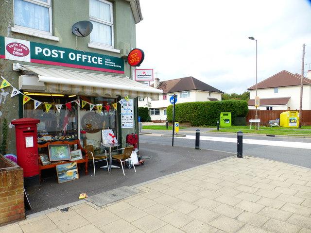 Post office on the corner of Redan Road