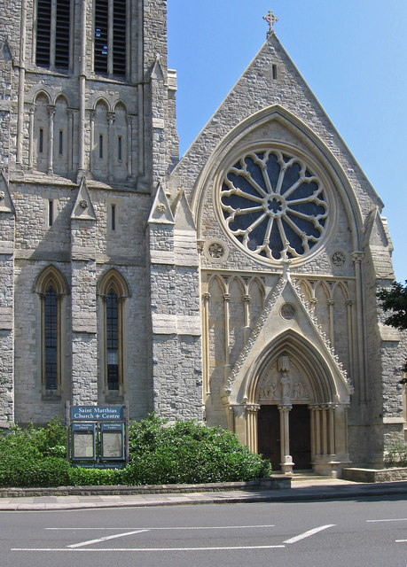 Richmond - St Matthias Church - SW end