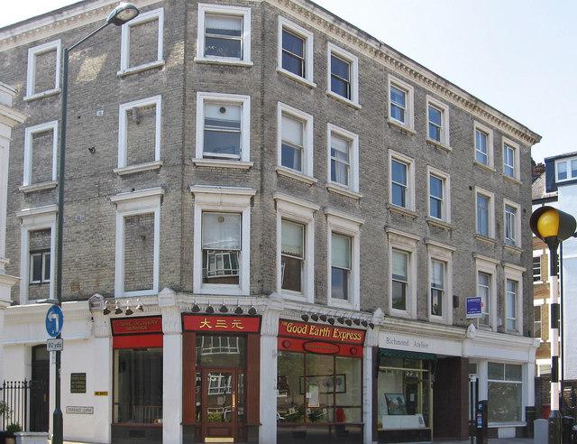 Richmond - shops on Friars Stile Road