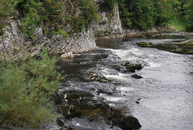 A small rapid near Loup Scar
