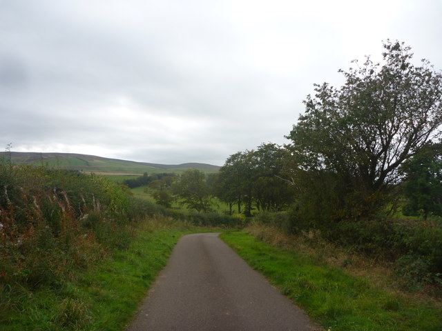 Rural East Lothian : On The Road To Newton Hall