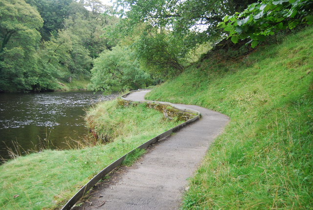 Dales Way and River Wharfe