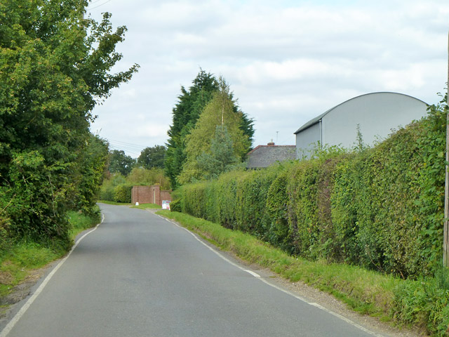 Chickney Road by Springate Farm