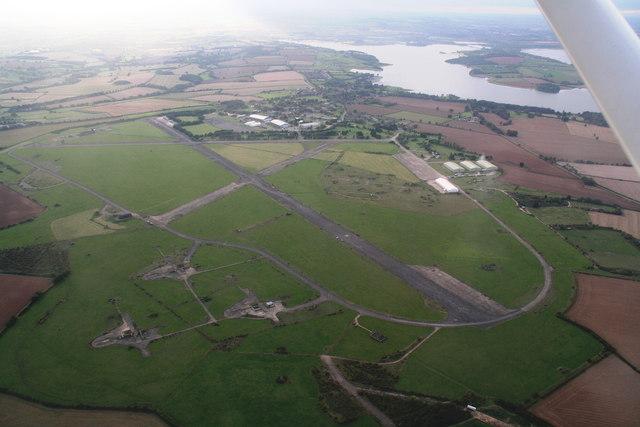 North Luffenham airfield: aerial 2014