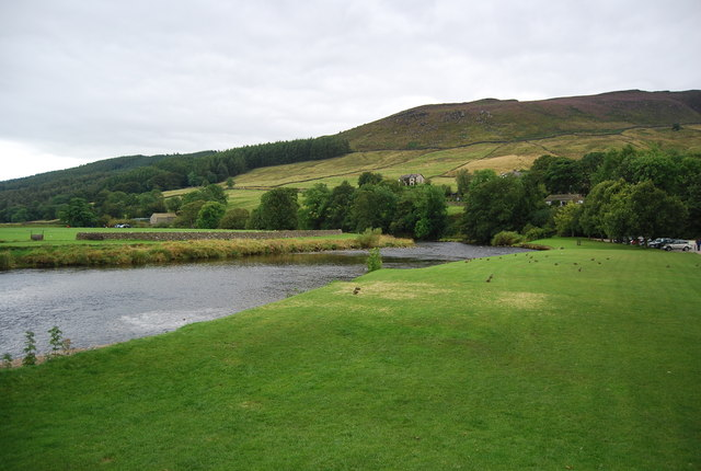 River Wharfe at Burnsall