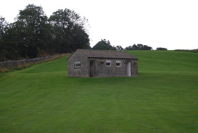 Public toilets at Burnsall