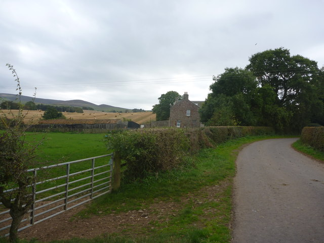 Rural East Lothian : Approaching Marvingston