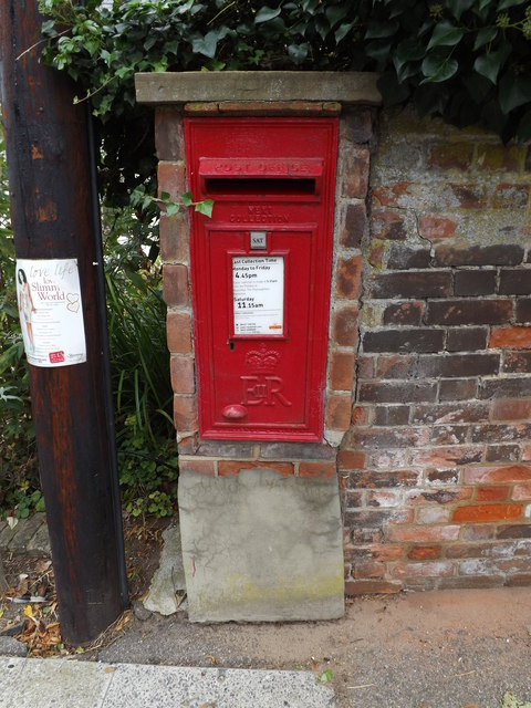 Wortwell Road Postbox