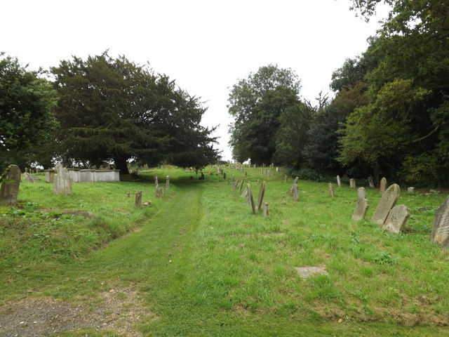 St.Mary's Churchyard & footpath to Cook's Lane