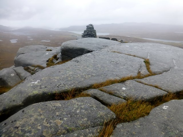Cairn Near Summit Of Codiunn