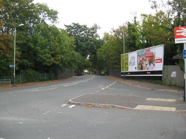 Turn right for rail-Cheltenham, Glos