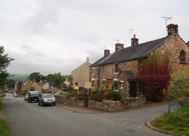 High Street in Longnor