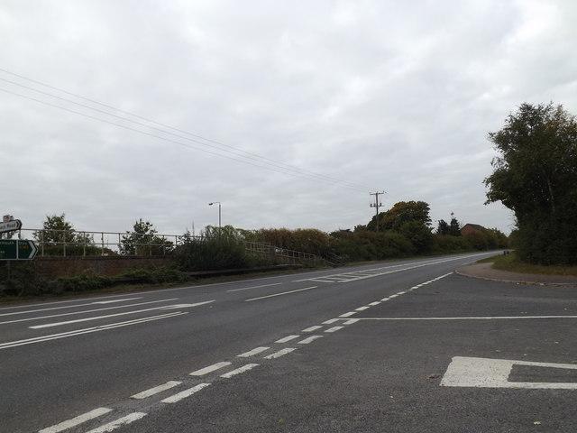 A143 Bungay Road, Wortwell