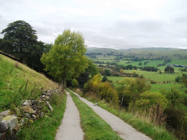 Track leading into the Dove Valley