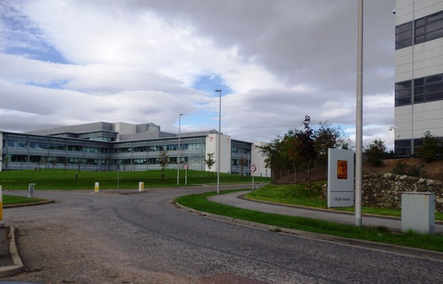 A 'roundabout' access to Westhill Business Park