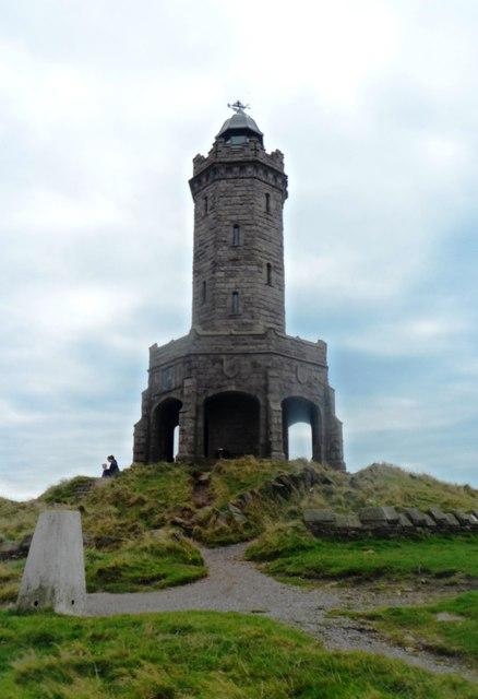 Jubilee Tower and Triangulation Pillar - Darwen