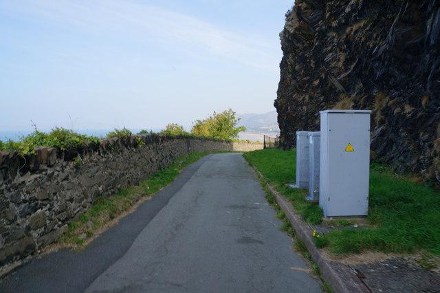 The Old Coast Road  towards Penmaenmawr