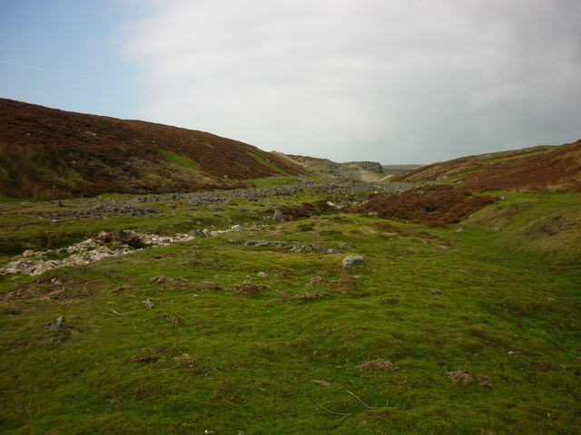 New Pasture Beck with grouse butts