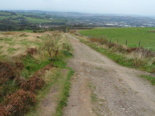 Track down Darwen Hill