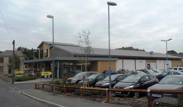 Lidl Supermarket - Darwen