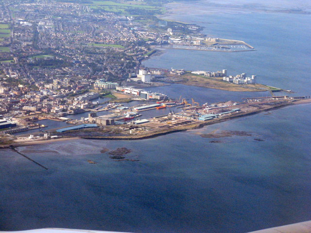 The Port of Leith and Granton Harbour