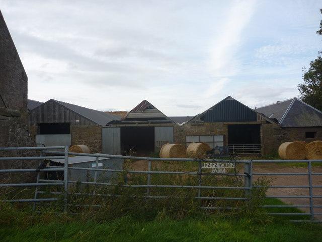 Rural East Lothian : Long Newton Farm