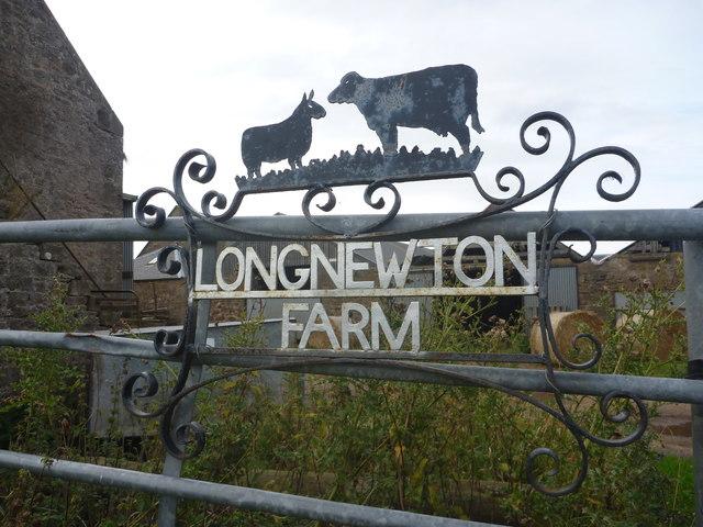 East Lothian Farm Signs : Long Newton