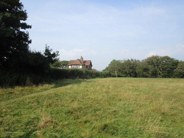 House overlooking Jubilee Field