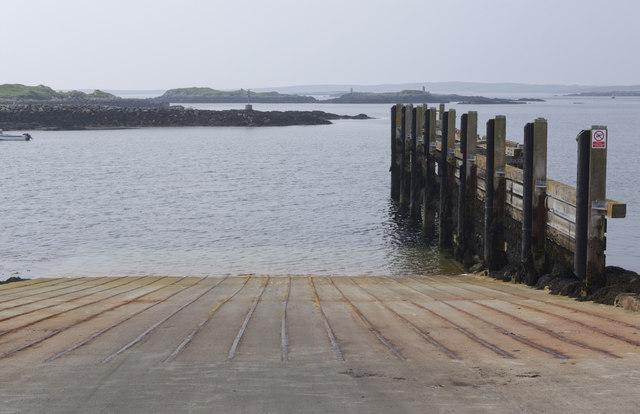 Leverburgh ferry slipway