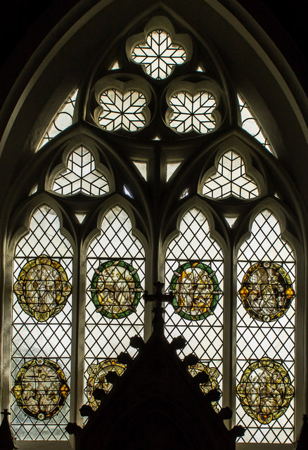 East Window, St Peter's church, Normanby le Wold