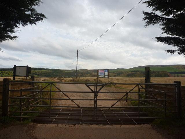 Rural East Lothian : The Road To Longyester Quarry