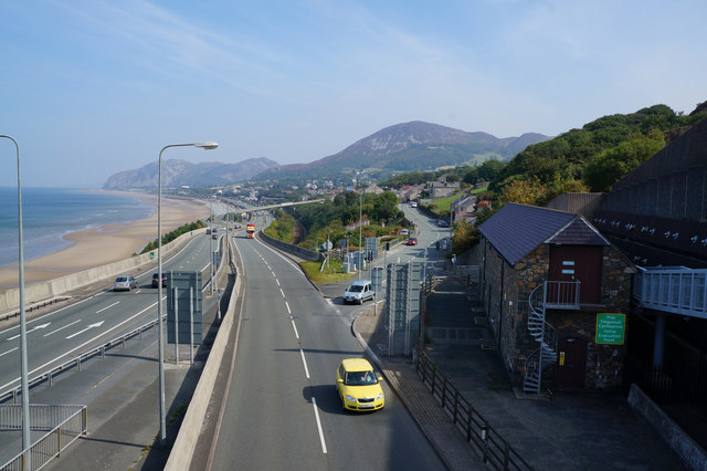The A55 North Wales Expressway