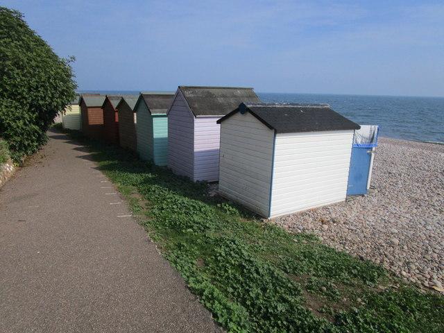 Beach huts, Budleigh Salterton
