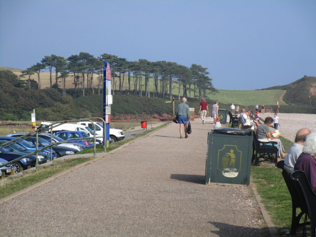 The east end of the Promenade, Budleigh Salterton