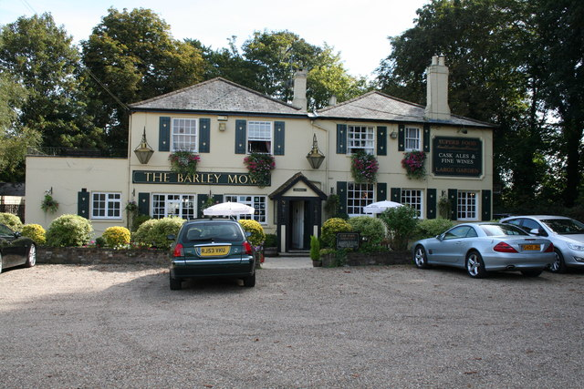 Tandridge:  The 'Barley Mow'