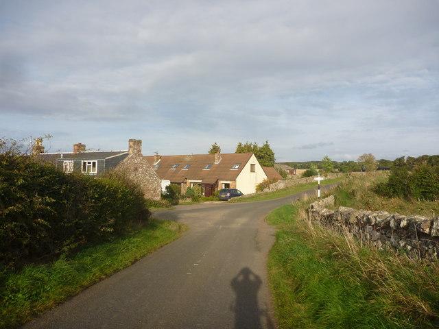 Rural East Lothian : Approaching Baxtersyke