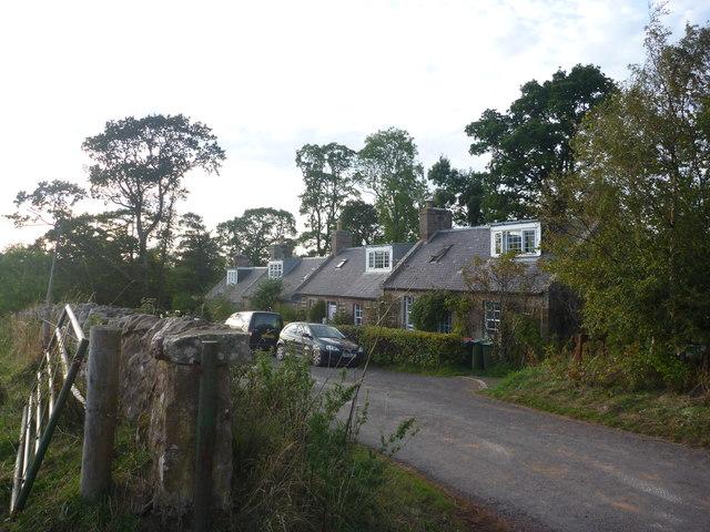 Rural East Lothian : Quarryford Farm Cottages